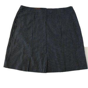 Esprit Vintage Plaid School Girl Skirt Size 5
